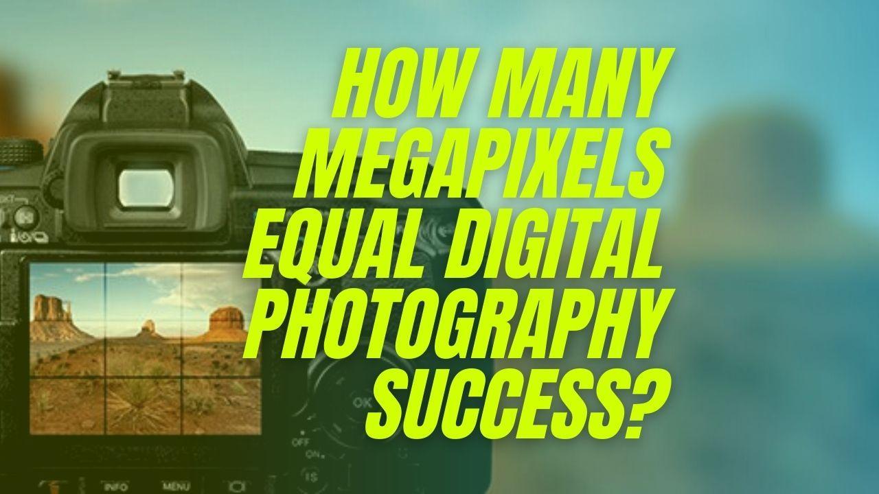 How Many Megapixels Equal Digital Photography Success?